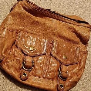Marc Jacobs Tan Leather Hobo